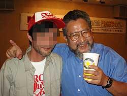 戸田さんとツーショット