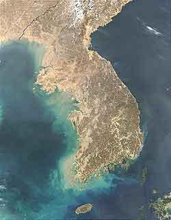 朝鮮半島全景
