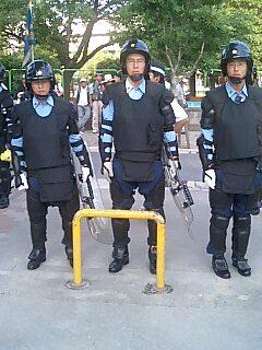 世界陸上の警備