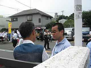 三鷹の反戦パネル展を妨害する在特会(11)