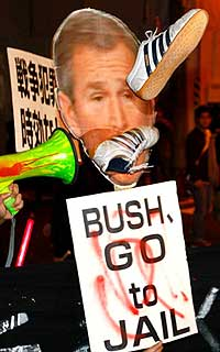 Go to Jail Bush !