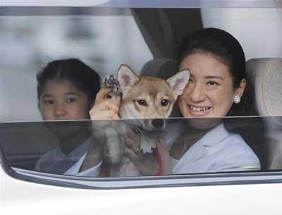 雅子さんと愛子ちゃん