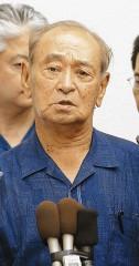 日米共同声明について「遺憾だ」と述べ、政府に不信感を示す仲井真知事