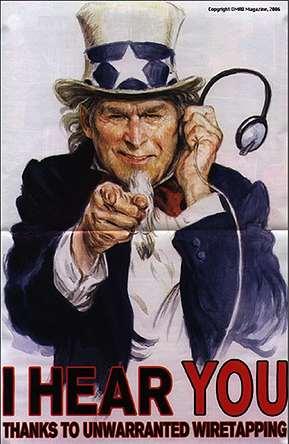 ネット盗聴が合法化される