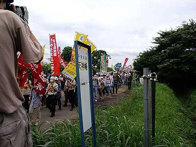 三里塚(成田)闘争 2010年6・27
