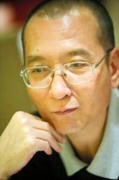 ノーベル平和賞を受賞した反体制活動家の劉暁波氏