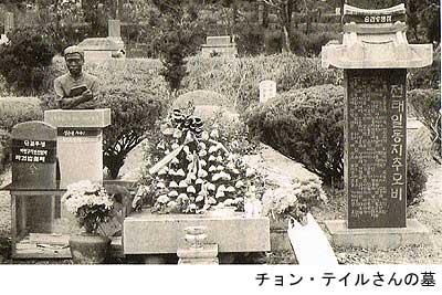 全泰壱さんの墓