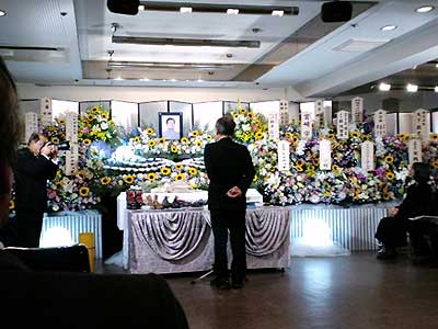 荒岱介さんご葬儀でのSさんの弔辞