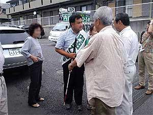 2011 内田ひろきさん柏市議選初日