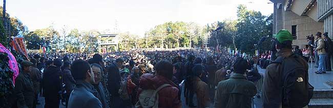 1・27オスプレイ反対東京集会全景