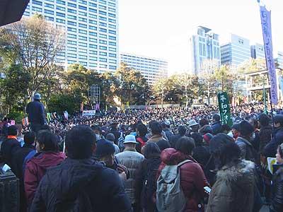 1・27オスプレイ反対東京集会