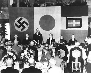 ファシズム3国の国旗