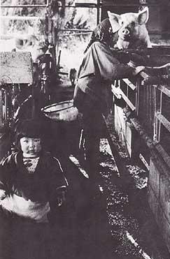 三里塚の農家(70年代)