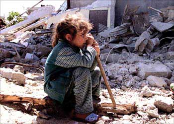 パレスチナ・ガザの子供