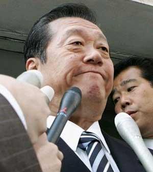 民主党小沢幹事長