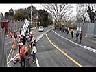 2011.02.14 市東さん宅前の道路切替強行に怒りの決起