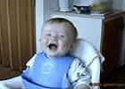 赤ちゃん大爆笑