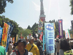 2013.06.02  No Nukes Day 芝公園(旗旗ver)