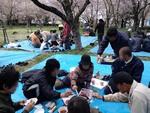 2012.04.15 反対同盟 団結お花見会 旗旗Ver