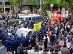 2006.04.30 警察がサウンドカーを強奪 !? 「自由と生存のメーデー06」