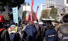 2・4 天神峰現闘本部裁判 東京高裁包囲デモ 02