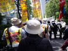 天神峰現闘本部裁判 高裁判決闘争 09