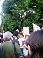 6.22 首相官邸前抗議行動 06