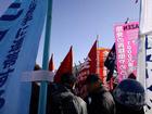 反対同盟 新年デモ・団結旗開き 07