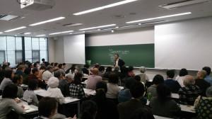 専修大学・山城博治講演会「抗う沖縄の声」