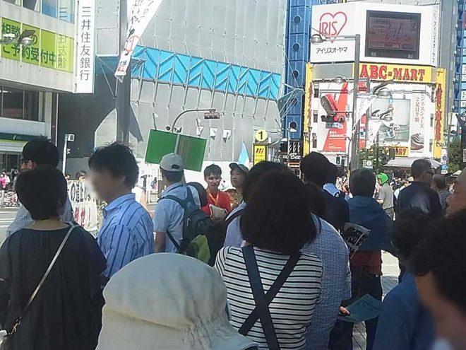 2014.06.15 安倍政権はダメだとはっきり言おう!part2 新宿デモ