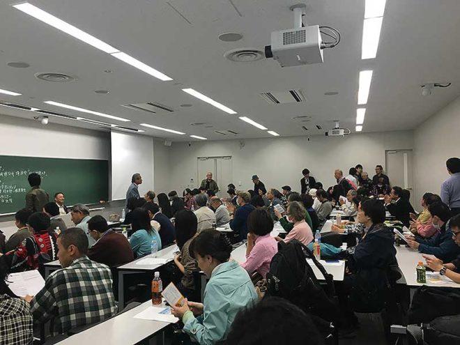 山城博治さん講演会「抗う沖縄の声」専修大・直接行動(DA)