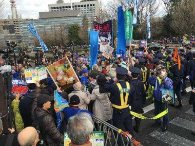 2016.02.21 止めよう辺野古埋め立て国会大包囲