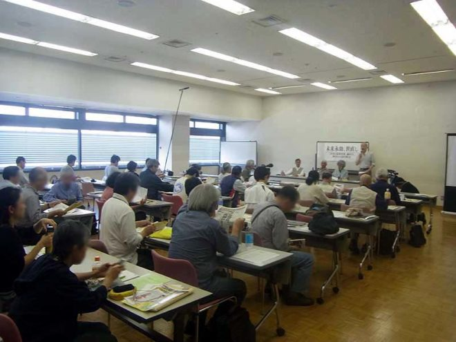三里塚の最新情報、鎌田さんと柳川さんの話をじっくり聞く会