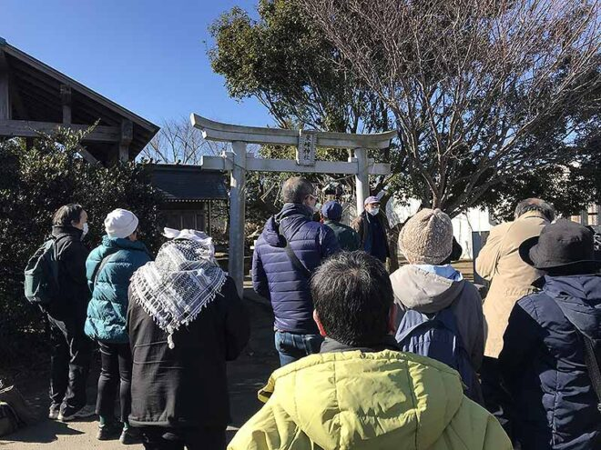 2021三里塚東峰神社しめ縄かざり
