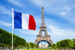 フランス人も旗旗!(アクセスログから)