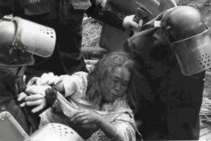 「機動隊の暴力」についての論争