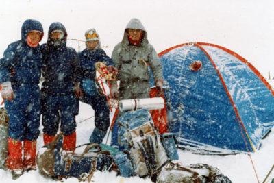 勤労青年山の会 厳冬期白馬岳山行