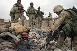 ファルージャに突入した米軍