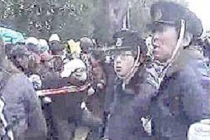 2006.01.30 野宿労働者の強制排除阻止行動に参加してー大阪うつぼ公園