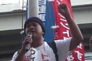 2007.09.12フィリピントヨタ労組の代表が来日 東京本社前で抗議行動