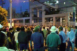 2008.06 釜ヶ崎(西成)第24次暴動 イタリアで放映された映像