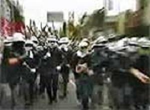 1985 三里塚十字路10・20戦闘