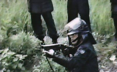ガス銃水平撃ち(1985年成田闘争)