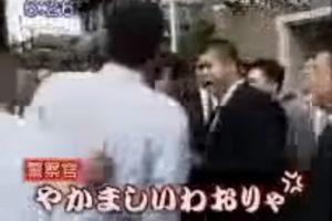 大阪府警 VS ヤクザ (゚_゚i)