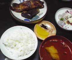 白石島 おばちゃんの手料理