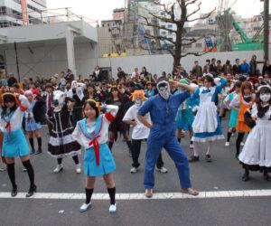 驚異的人数でハレ晴レユカイを踊るoff