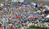 普天間移設:徳之島で反対集会 1万5000人が参加