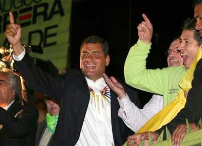 エクアドル・コレア大統領