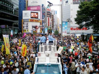 2011.6.11脱原発100万人アクション in 新宿アルタ前広場