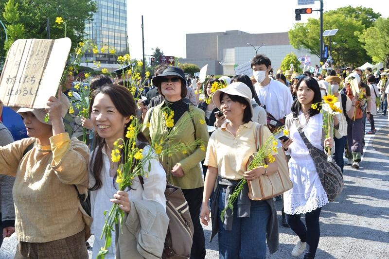 2011.06.11脱原発100万人アクション in 渋谷 第3回エネルギーシフトパレード